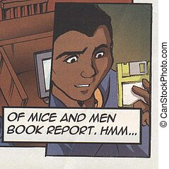 Of Mice And Men - African American teen thinking about this...
