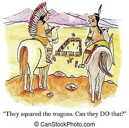 Squared wagons