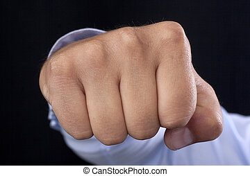 fist in your face