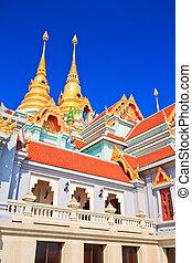 Temple Wat Maha Chedi in Prachuap Khiri Khan, Thailand