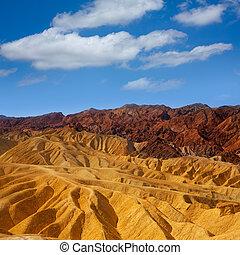 Death Valley National Park California Zabriskie point
