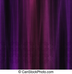Purple curtain background - Abstract decorative curtain...