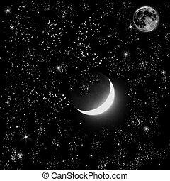 月亮, 星