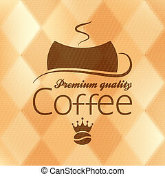 coffee vintage background 10 eps