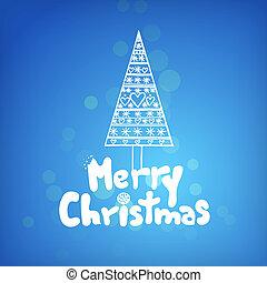 Christmas illustration - Hand drawn christmas vector...