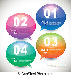 vector abstract infographics - vector abstract infographic...