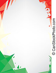 background origami of Italy - a design background (Origami...