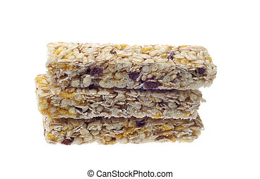 isolated muesli bar - muesli bar isolated on a white...