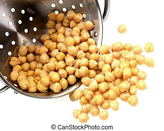 Colander of Chick Peas