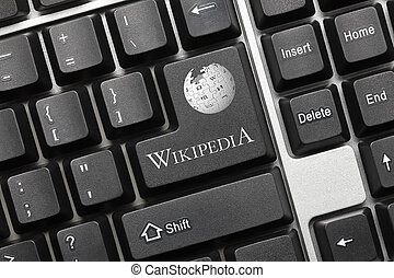 Conceptual keyboard - Wikipedia (key with logotype) - Close...