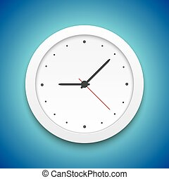 Vector Clock Icon vector Illustration