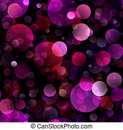 Pink bokeh background - Beautiful defocused pink abstract...