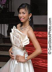 Asian glamor girl