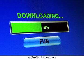 Downloading fun