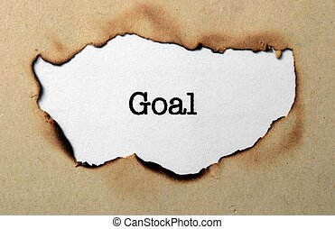Goal concept