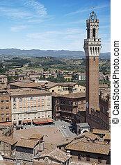 Piazza del Campo. Siena, Italy