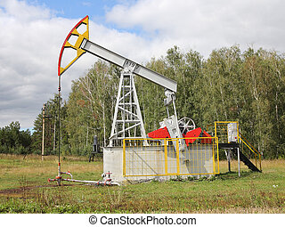 Oil pumpjack Oil industry equipment