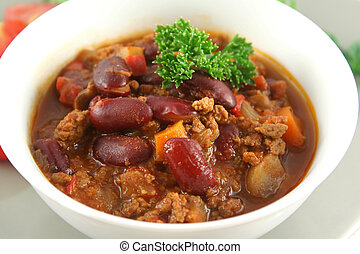Chili Con Carne 2 - Colorful and spicy chili con carne ready...