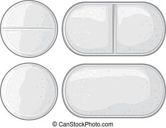 pills illustration - vector pills illustration (capsule,...