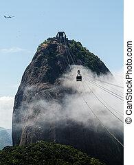 Cablecar to Sugarloaf Mountain Rio de Janeiro Brazil