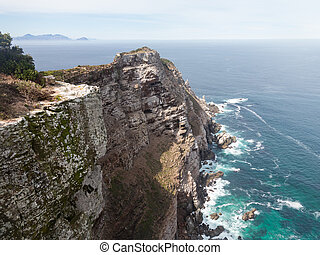 Rocky shoreline Cape Point - Rocky shoreline at Cape Point...