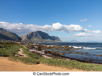 Bettys Bay Western Cape South Africa - Rocky shoreline of...