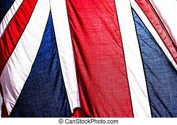 british flag - sea british flag on sky