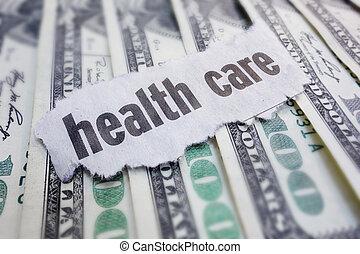 saúde, Dinheiro, cuidado