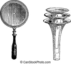Fig. 994. Concave mirror for otoscopic examination, Fig....