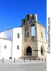 Se church in Faro, Algarve, Portugal