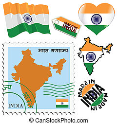 national colours of India