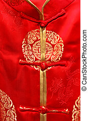 Chinese style dress - Traditional dress of Chinese people,...