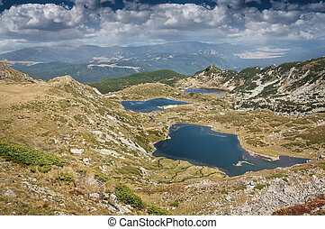 Rila Lakes - Lakes in Rila mountain, Bulgaria