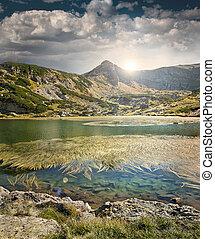 Rila Lakes - Lakes in Rila mountain, Bulgaria