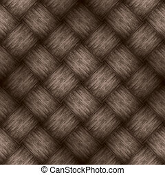 chequered pattern wooden brown background or wood grain...
