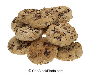 chocolate chip cookies - delicious chocolate chip cookies...