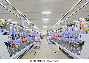 spinning plant machinery and equipment - Luannan, November...