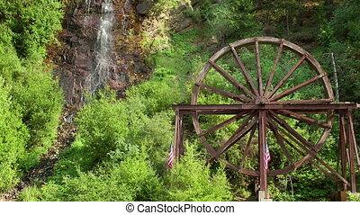 Charlie Taylor Waterwheel - The Charlie Taylor Waterwheel in...