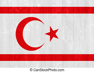 Turkish Republic of Northern Cyprus flag - gorgeous Turkish...