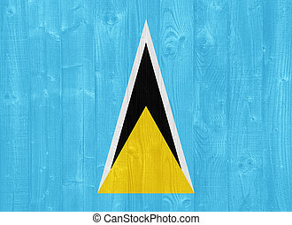 Saint Lucia flag