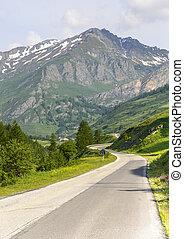 Colle dell'Agnello - Road to Colle dell'Agnello (Cuneo, Val...