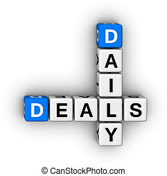 daily deals crossword puzzle symbol
