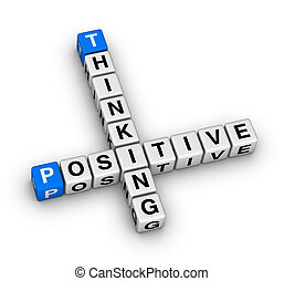 Positive thinking crossword puzzle