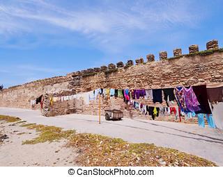 Walls of Essaouira, Morocco