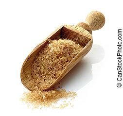 madeira, concha, Marrom, Açúcar