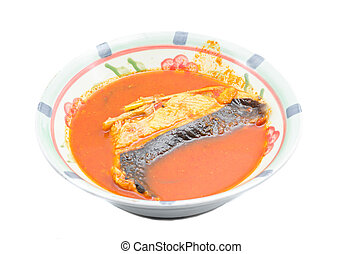 Malay Dishes, Asam Pedas Ikan Pari