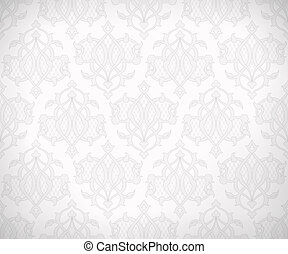 Vintage seamless pattern for background design - Vintage...