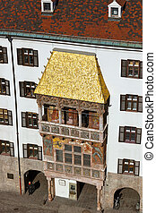 Famous golden roof - Innsbruck Austria - Famous golden roof...