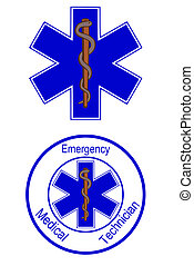 Medical symbol - Star of life emt symbols