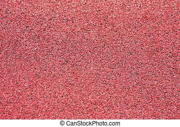 Red gravel